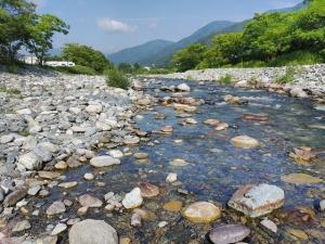 甲子川最終日