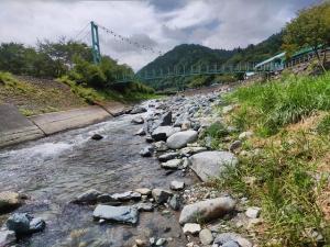 道志川は雨の影響ちょっと有り、か