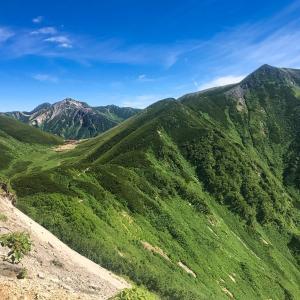 三俣山荘から鏡平山荘 Ⅶ