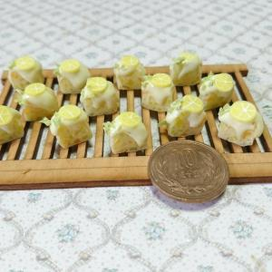 ミニチュア「レモンケーキ」…作ってみました