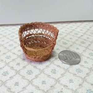 年の始めは…バゲット籠…編み…