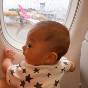 祝✴︎飛行機♡九州旅行①