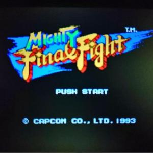 レトロゲーム探訪#17『マイティファイナルファイト(1993)』