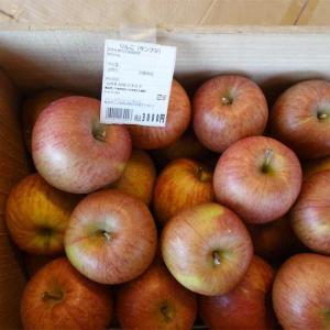 リンゴの木箱買い
