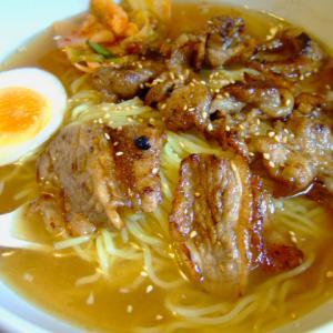 平内町「龍松閣」カルビ冷麺