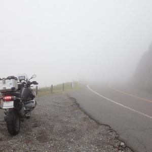霧中のビーナスライン