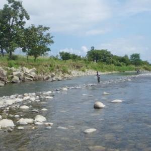 ちょこっと魚野川へ