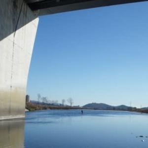 渡良瀬川冬季ニジマス釣り場
