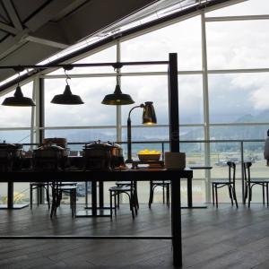 【世界のラウンジから】香港国際空港(第1ターミナル) プラザ・プレミアム・ラウンジ ウエストホール – 開放感があり明るいラウンジ