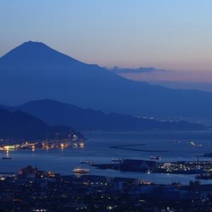 今朝の富士山 ( 日本平 ・ 9/22 ・ RP )