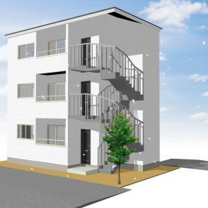3階建ての共同住宅