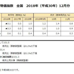 総務省の「消費者物価指数」がデタラメな可能性 : 総務省の +0.7% に対して、日銀の消費動向調査では +3.0% 食い違う理由は…