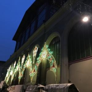 ミケちゃん達にも挨拶したサンタクローチェ教会