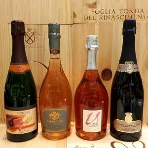 ワイン便の発送:スパークリングワイン、リモンチェッロ ecc.