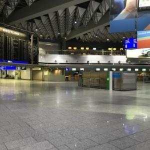 フランクフルト空港に着いたよ/COVID-19