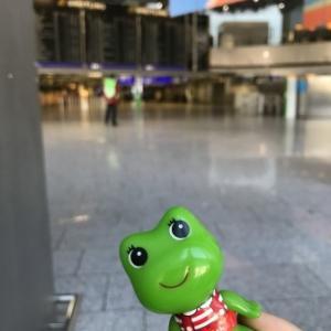 フランクフルト空港での5時間/COVID-19