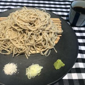 仏式茶寮 カミノ(5)のもりそばとスコーン【青木】