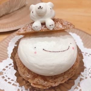 パティスリー・アンデュルジャン(10)の寝クマのケーキ【黒磯】