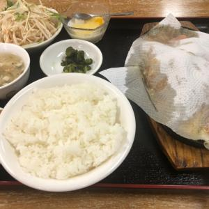 四季紅の鉄板牛肉定食【黒磯】