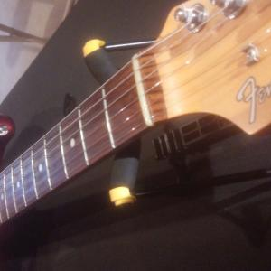 親友とギター