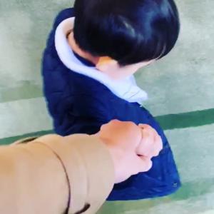 しっくりくるママの手