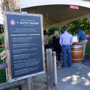 V.Sattui Winery  Italian Market @  NAPA