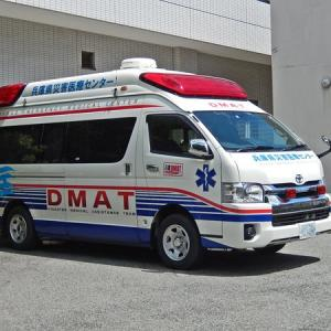 DMATの救急車