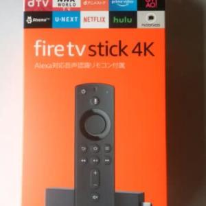 アマゾン・fire stick購入