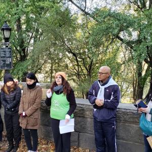 【活動報告】11/9 JTB America NY市の公園でClean Up ボランティア
