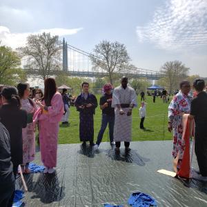 【活動報告】桜祭り@Randall's Island