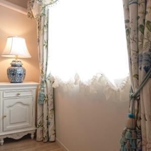 シノワズリの寝室を紹介していただきました♪