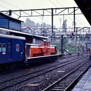 機関車交換風景(続き)