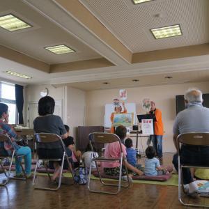 2019-8(夏休み企画)富山 神明地区センターで紙芝居