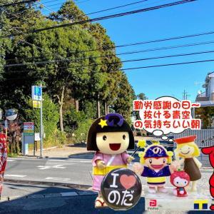 やっちまった朝~は勤労感謝の日!!な野田市観光協会員のお店で観光案内も!!