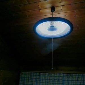 早起き出来る様に寝ながら電灯のスイッチをつけられる様にしました