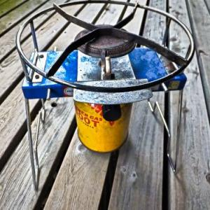 ローテーブルに使い易いプリムスのガスコンロ