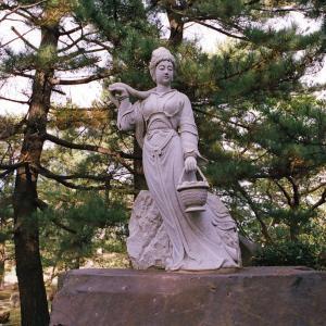 奥の細道、蚶満寺(秋田県にかほ市)