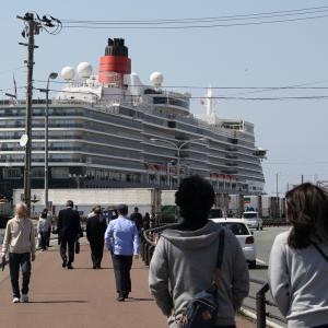英国女王船、秋田港に初寄港4(秋田県秋田市)