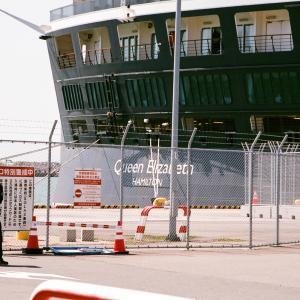 英国女王船、秋田港に初寄港5(秋田県秋田市)