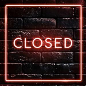 本日 16時閉店です。
