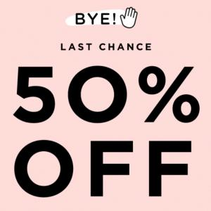 ★SUMMER SALE★ 50% OFF