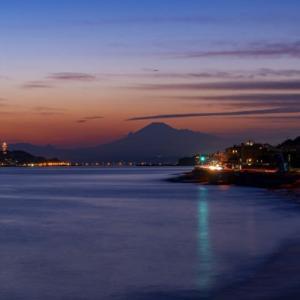 稲村ケ崎からの夕景