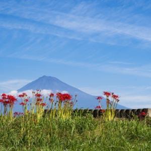 シルバーウイークの富士山
