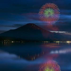 2021 山中湖報湖祭花火