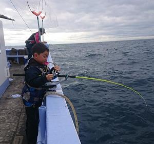 9月29日午後ヒラメ釣り体験 小樽つり船シェイク