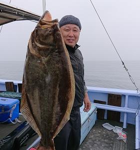 7月2日ヒラメ 小樽釣り船シェイク