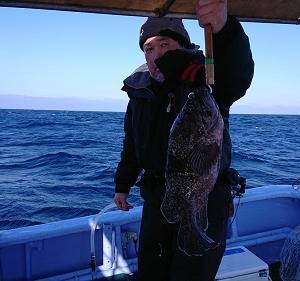 1月24日ソイ、ガヤ 小樽遊漁船シェイク