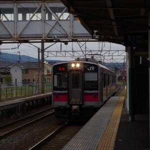 由利高原鉄道の始発駅へ(3日目その1)