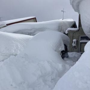 断水、大雪、病院