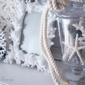 貝殻で簡単リメイク♪シャビーなマリンリースの作り方&夏の爽やかインテリア♡